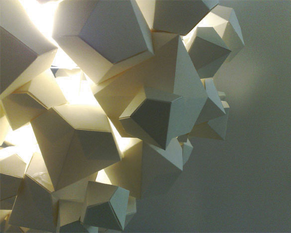James Patmore NaCl installation Lightshade